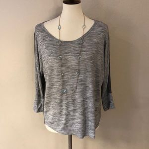 Ann Taylor Loft 3/4 Length Sleeve Top